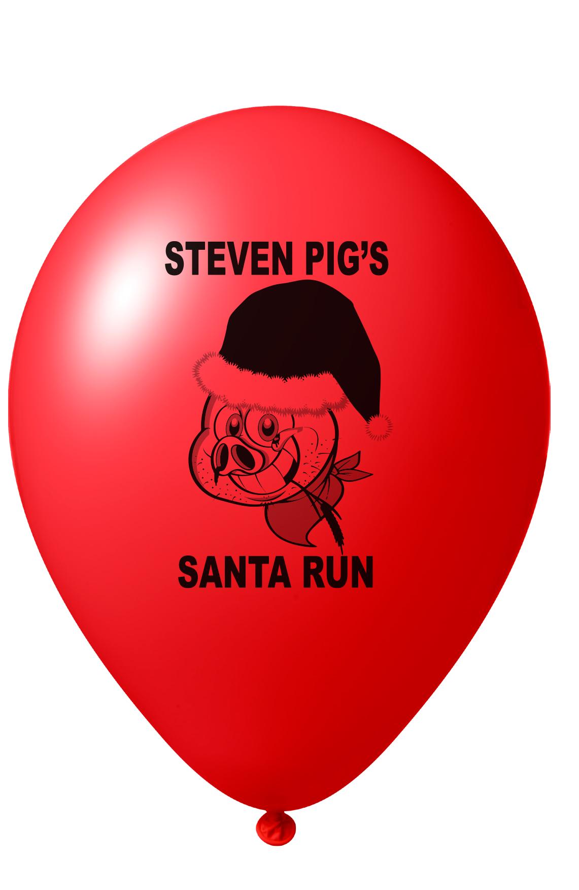 steven pig balloon